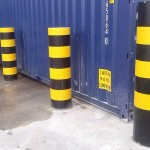 Galva safety posts and barriers